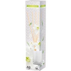Bispol fragrance diffuser rattan sticks 45 ml - White Flowers