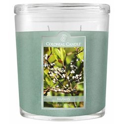 Colonial Candle large scented oval jar candle 22 oz 623 g - Bayberry