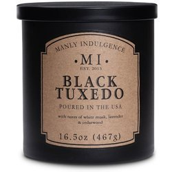 Colonial Candle soy scented candle black 16.5 oz 467 g - Black Tuxedo