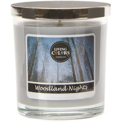 Living Colors Candles WM scented candle 5 oz 141 g - Woodland Nights