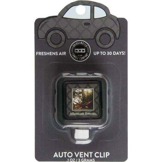 Bridgewater Candle Auto Vent Clip zapach do samochodu auta - Afternoon Retreat