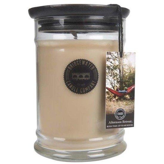 Bridgewater Candle Company Large Jar Candle 18 Oz duża świeca zapachowa sojowa w szkle 524 g - Afternoon Retreat