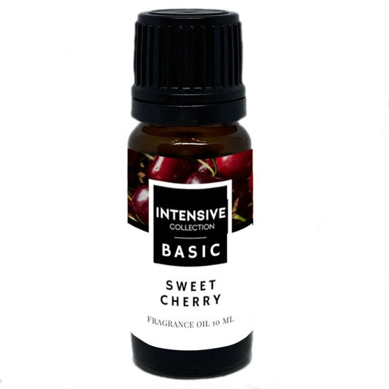 Intensive Collection Amber Basic fragrance oil in natural glass bottle 10 ml - Sweet Cherry