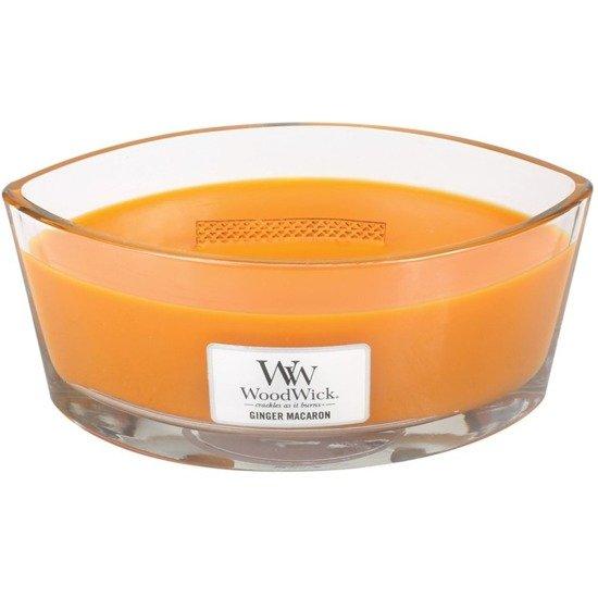 WoodWick Core Heartwick Candle świeca zapachowa sojowa w szkle łódka ~ 60 h - Ginger Macaron