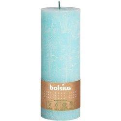 Bolsius świeca bryłowa pieńkowa rustykalna słupek Rustic Divine Earth 190/68 mm 19 cm - Sky