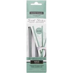 Candle-lite Essential Elements ScentSticks patyczki zapachowe papierowe naturalne z olejkami eterycznymi - Aloe & Agave