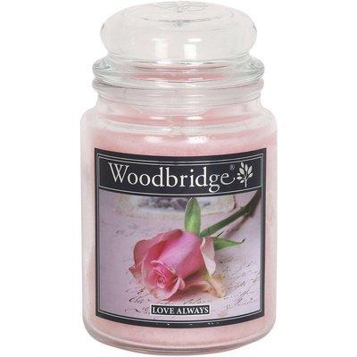 Woodbridge świeca zapachowa w słoju duża 2 knoty 565 g - Love Always