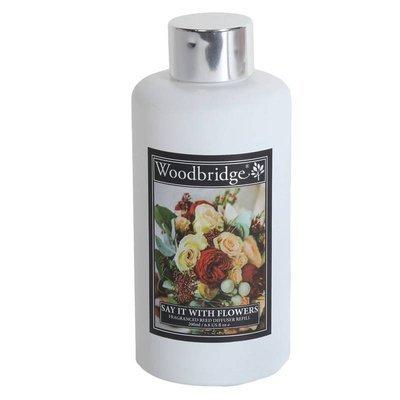 Woodbridge uzupełnienie do dyfuzora zapachowego Refill Bottle 200 ml - Say It With Flowers