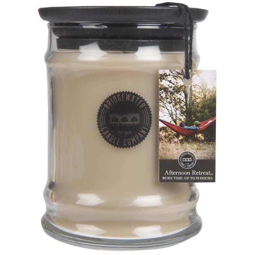 Bridgewater Candle Company Small Jar Candle 8 Oz średnia świeca zapachowa sojowa w szkle 250 g - Afternoon Retreat