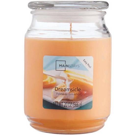 Mainstays WM świeca zapachowa w szklanym słoju 20 oz 566 g - Dreamsicle CL013