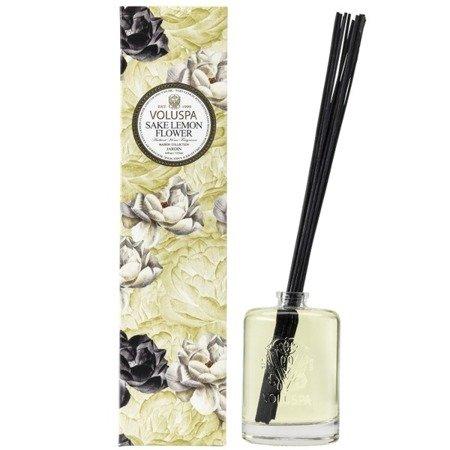 Voluspa Fragrant Oil Diffuser dyfuzor zapachowy 178 ml - Sake Lemon Flower
