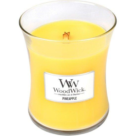 WoodWick Core Medium świeca zapachowa sojowa w szkle ~ 100 h - Pineapple